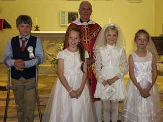 First Holy Communion at St Thomas', June 2014